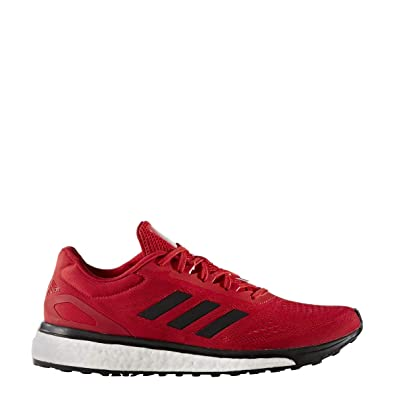 new product 3beaa 9c769 adidas Response Boost LT Mens Running Shoe 5.5 Scarlet Black Silver Met