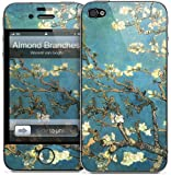 """GelaSkins Protective Skin for the iPhone 4 """"Almond Branches"""" with Access to Matching Digital Wallpaper Downloads"""