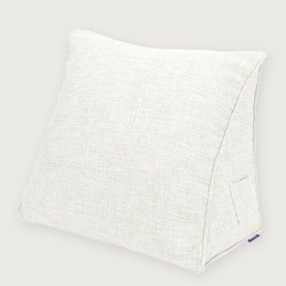 Triangle pillow bay window headrest pillow lumbar / office back cushion pillow ( Color : 11 , Size : 605025cm )