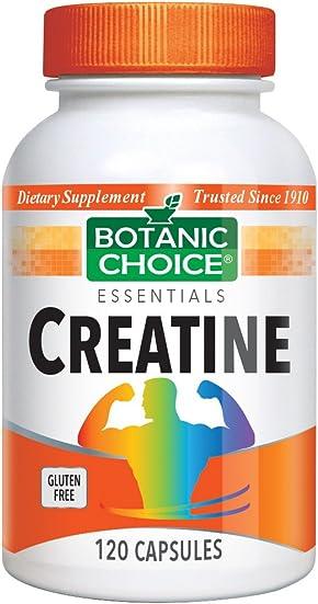 Botanic Choice Creatine, 120 Capsules