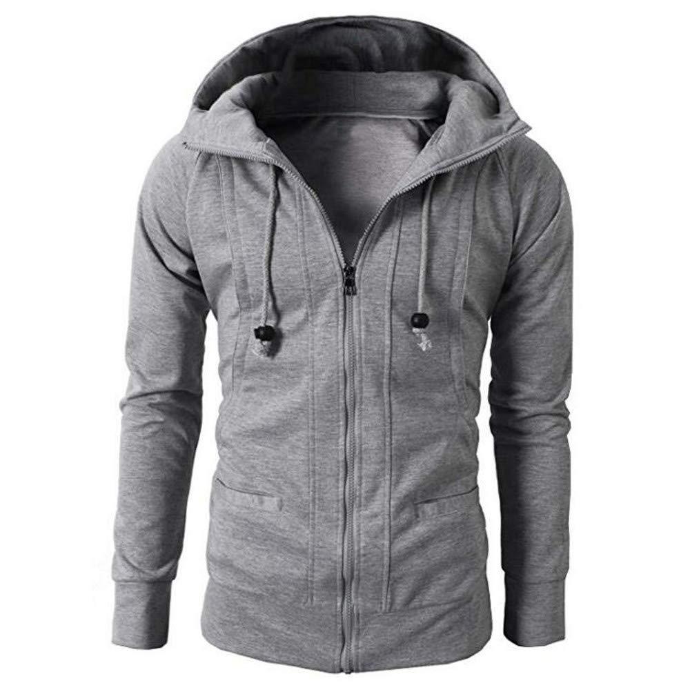 IMJONO Mens Slim Designed Lapel Cardigan Coat Jacket IMJONO Herren JuL.25