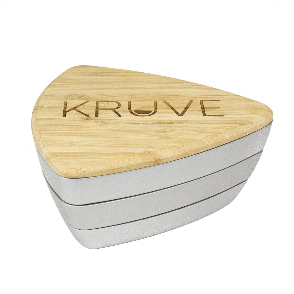 KRUVE Sifter Twelve Helps Accurately Measure, Calibrate, Refine Coffee Grinds, Great for Cafes, Baristas, Or Home Brewers, 12 Interchangeable Sieves, Silver