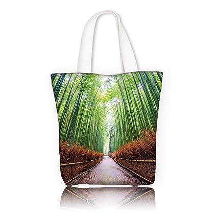 Amazon com: Women's Canvas Tote Bag -W12 x H7 8 x D3 INCH