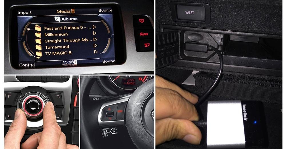 Bovee tune2air Bluetooth Car Kit for AUDI, VW, MB - Music Interface Adaptor for in car iPod Integration (WMA3000A AMI/MDI/MMI connector) by Bovee (Image #2)