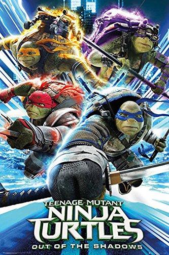 Póster TMNT/Teenage Mutant Ninja Turtles