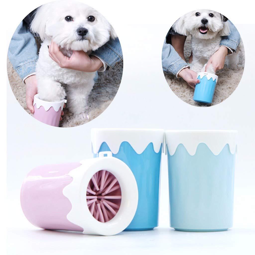 Yivise - Limpiador portátil para Mascotas, Cepillo de ...