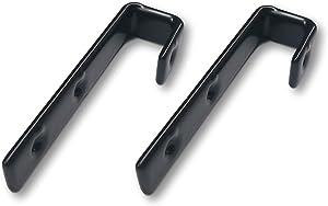 """Elegent Upholstery Premium Bunk Bed Ladder Hooks (3/4"""" Inside Vinyl Coated - Set of 2 [Screws Included]"""