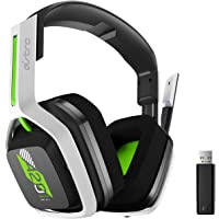 ASTRO Gaming A20 Wireless Headset Inalámbric Gen 2 para Xbox, PC, Mac, Negro/Verde/Blanco