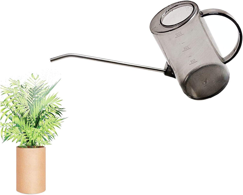 Narrow Long Spout Watering Can Indoor Outdoor Plastic Watering Pot 1000ml