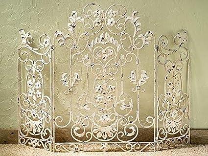 Antique Fireplace Screen >> Amazon Com Kensingtonrow Home Collection Fireplace Screens