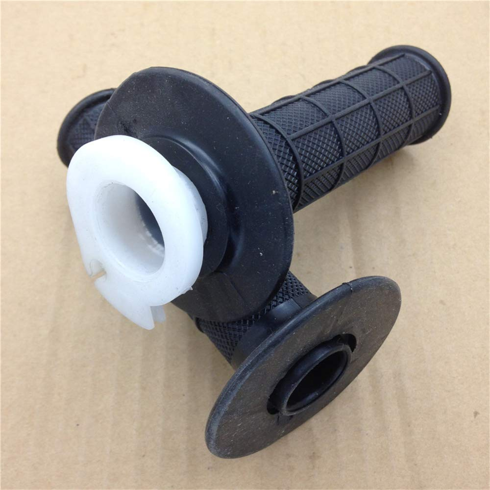 Replacement of 1 25mm Black Handlebar for Harley Sportster Cruiser Motorbike Hand Grip Rubber HTTMT