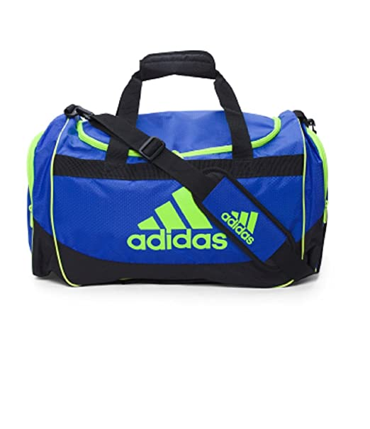 ebaa813e7b8e Amazon.com | Adidas DEFENSE MEDIUM DUFFEL Cobalt/Solar Yellow ...