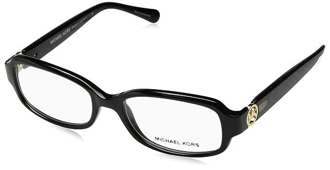 90d89067e6d Michael Kors TABITHA V MK8016 Eyeglass Frames 3099-52 - Black black Glitter  MK8016
