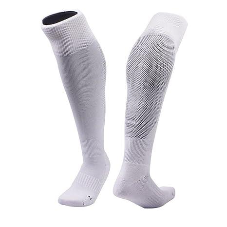 Clode® 1pair alta calidad de poliéster y algodón mezclan medias fútbol calcetines de colores (