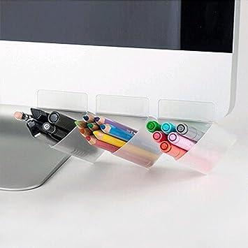 5 X Creative Diy Bildschirm Kugelschreiber Bleistift Stander Desktop