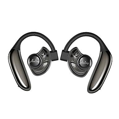 AMINY U-Two - Auriculares inalámbricos con Batería DE 4,2, Auriculares Bluetooth
