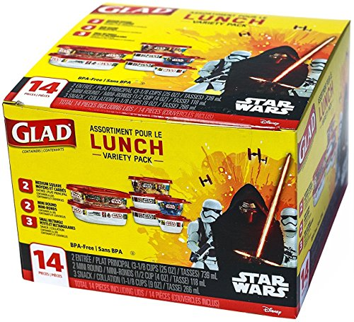 glad-lunch-variety-pack-disney-star-wars-14-pieces