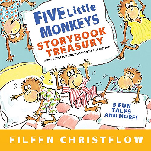 Cute Little Monkey - Five Little Monkeys Storybook Treasury (A Five Little Monkeys Story)
