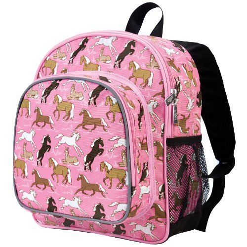 Horses in Pink Pack 'n Snack Backpack