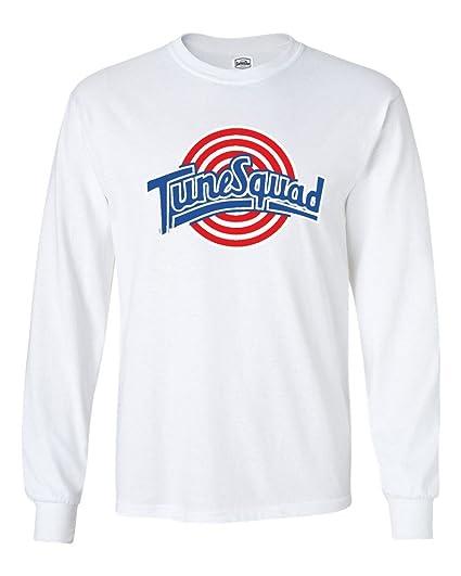 40886a64ccd362 Amazon.com  KING THREADS Long Sleeve Space Jam Tunesquad T-Shirt ...
