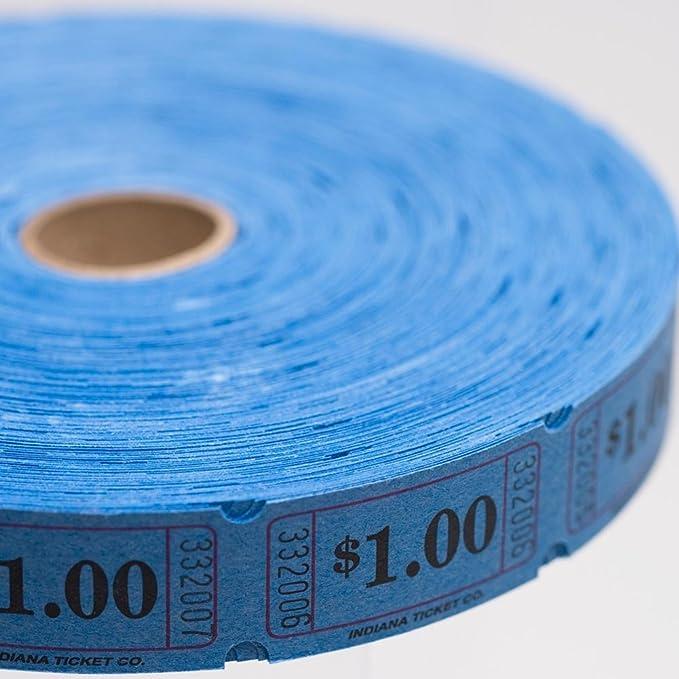 Orange $1.00 Ticket Roll