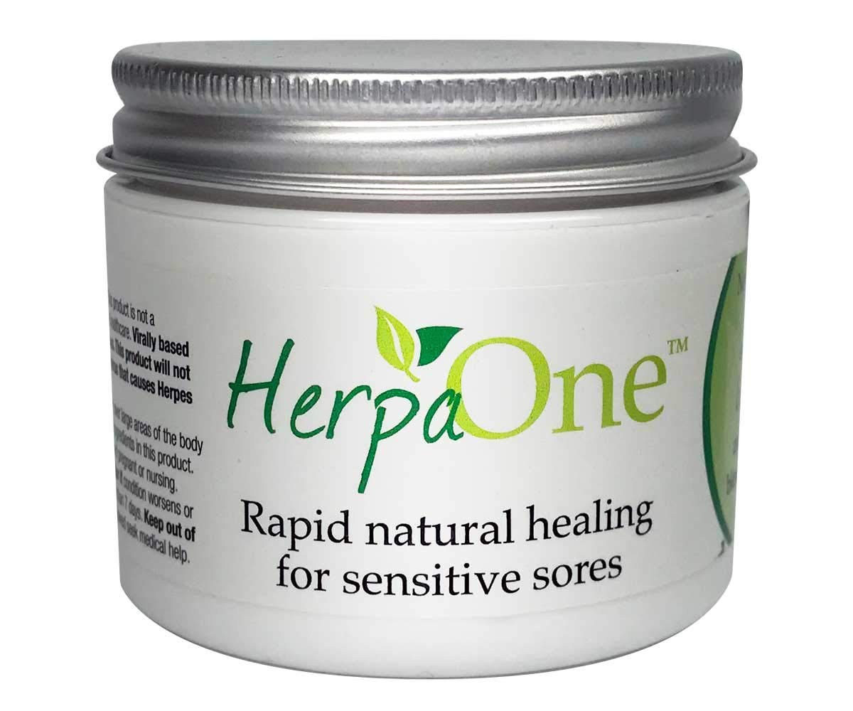 HerpaOne - Rapid Healing for Herpes Sores - All Natural - Lysine and Zinc  Formulation- for Herpes Cold