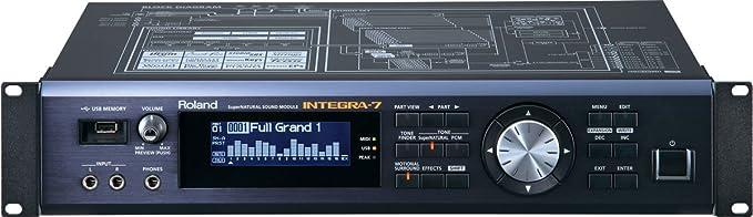 Roland Módulo INTEGRA-7 SuperNATURAL Sound: Amazon.es: Instrumentos musicales