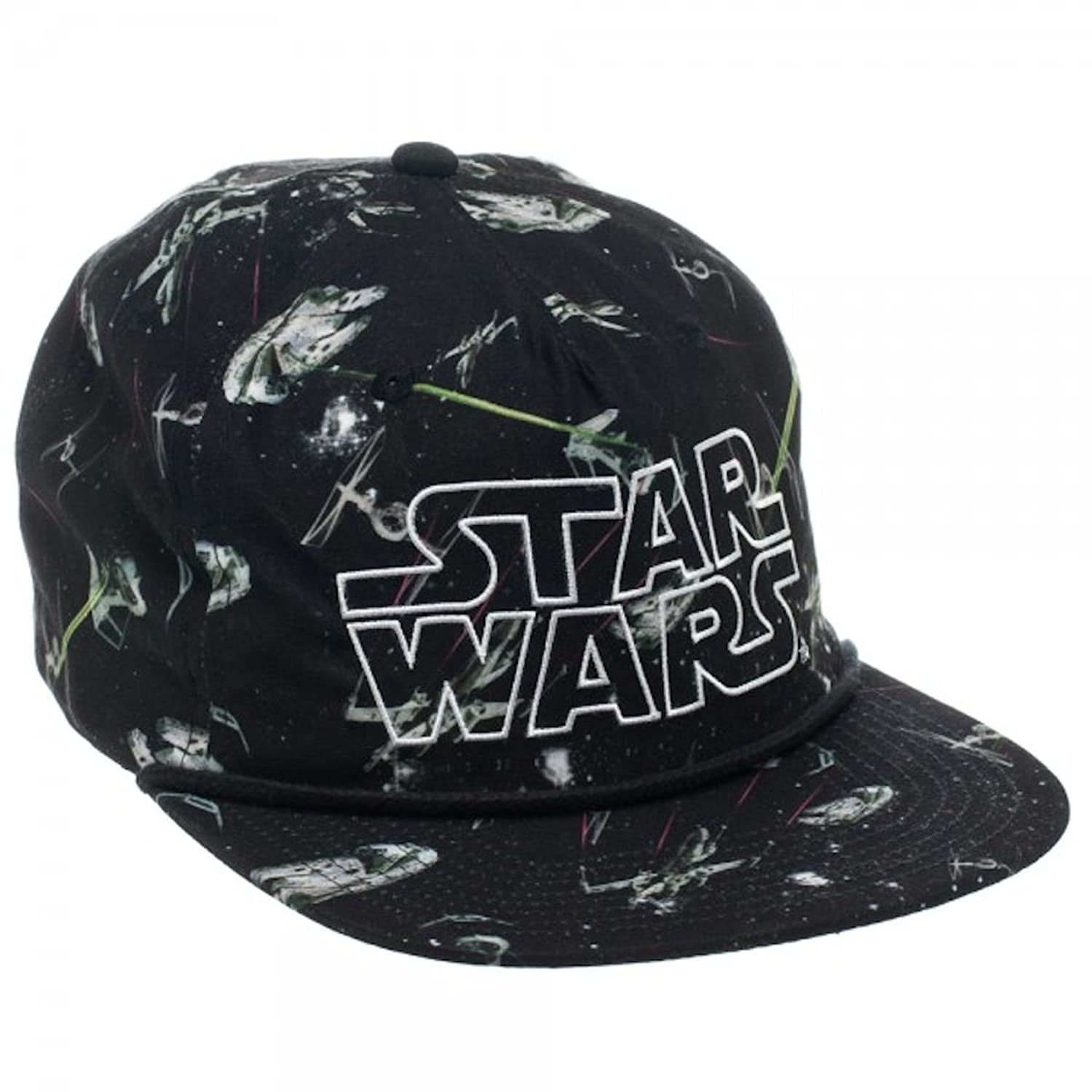 b3d57ff2271 ... new zealand amazon bioworld star wars official snapback one size fits  most sublimated print hat clothing