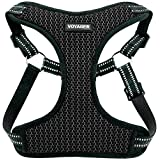 Voyager Step-in Flex Dog Harness - All Weather Mesh, Step in Adjustable Harness for Small & Medium Dogs by Best Pet Supplies, Inc, Inc, Inc, Gray Base, X-Small
