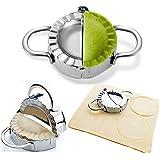 "Dumpling Maker - Dumpling Press/Stainless Steel Empanada Press/Pie Ravioli Dumpling Wrappers Mold Kitchen Accessories (9.5cm/3.74"" Large)"
