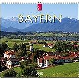 BAYERN: Original Stürtz-Kalender 2018 - Mittelformat-Kalender 33 x 31 cm