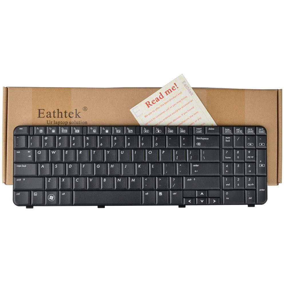 Amazon.com: Eathtek Replacement Keyboard for HP Compaq Presario CQ61 G61  series Black US Layout, Compatible with part# 539618-001 517865-001:  Computers & ...