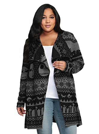 d75672b3ff6 Torrid Nightmare Before Christmas Collection Drape Cardigan at ...