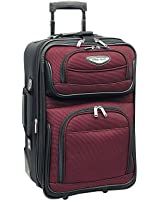 Traveler's Choice Amsterdam 21 in. Expandable Carry-on Rolling Upright