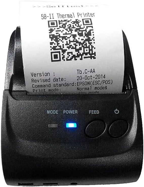 Impresora Térmica de Recibos 58mm Bluetooth Portátil para Android ...