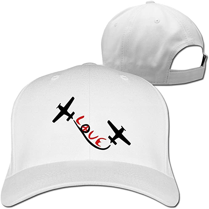 Cool amor paz TXT Aviación Air Show aviones gorra de béisbol ...