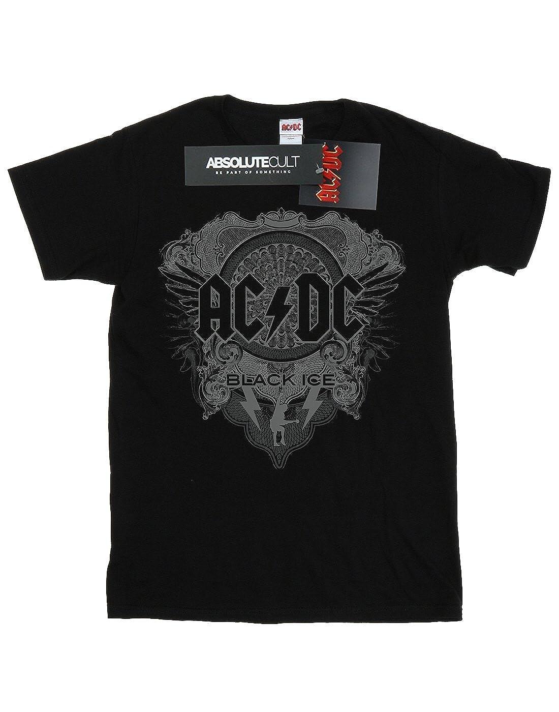 AC//DC Girls Black Ice T-Shirt