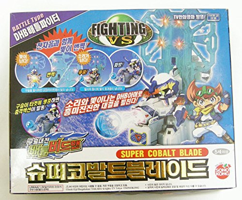 TAKARA BATTLE B-DAMAN(BEADMAN) ZERO : LIGHT&SOUND SUPER COBALT BLADE ()