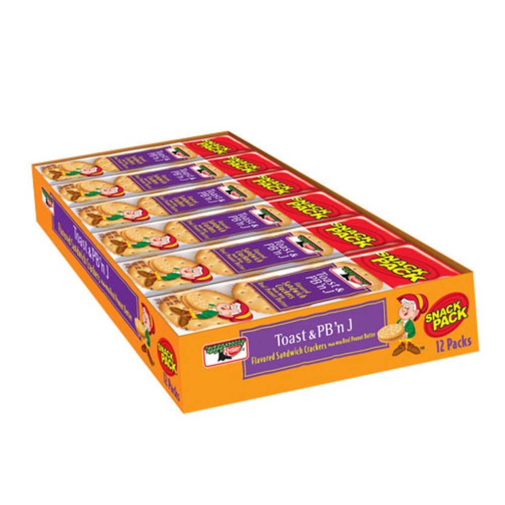 Keebler Kings Blend Toasted Peanut Butter and Jelly Sandwich Cracker, 1.8 Ounce - 144 per case. by Kellogg's