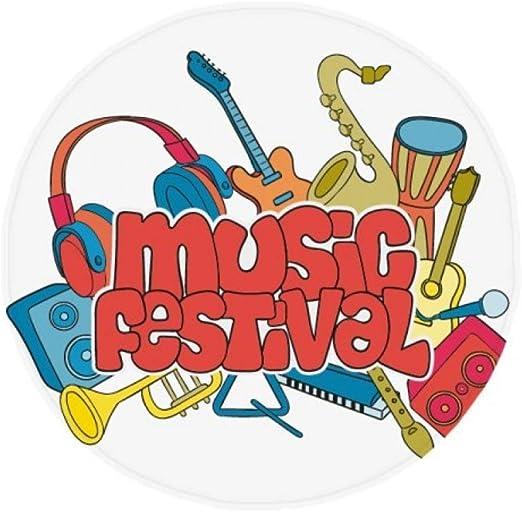 DIYthinker Guitarra Festival de Música Patrón de Instrumentos ...