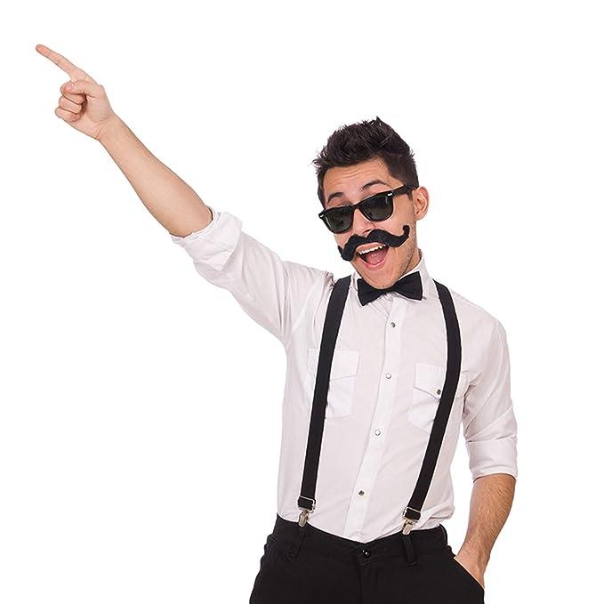 bcde34542 2 Conjuntos de Tirantes y Pajaritas Juego de Corbata Tirante Ajustable  Tirantes en Forma de Y con Corbatas para Hombres y Mujeres