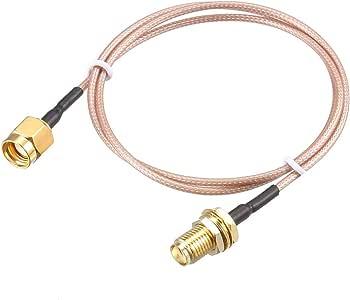 Sourcingmap RG-178 - Cable coaxial RF de Baja pérdida: Amazon.es ...