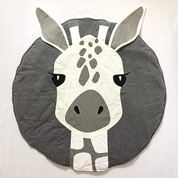 Nordic Ideas Tapis De Jeu Bebe Animaux Girafe Coton Rond Tapis éveil