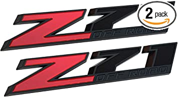 Yuauto 2500HD 2500 HD Nameplates Emblems Badges Replacement for Gm Silverado Sierra 1Pc