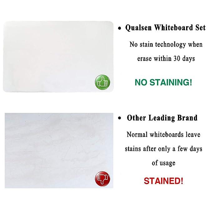 Amazon.com: Qualsen A4 - Tablero de nevera magnético borrado ...