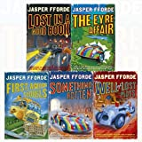 Jasper Fforde Thursday Next 5 Books Collection Set (The Eyre Affair, Lost in a Good Book, The Well Of Lost Plots, Something Rotten, First Among Sequels)