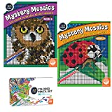 MindWare Color Number Mystery Mosaics Set: Books 3-4 pencils