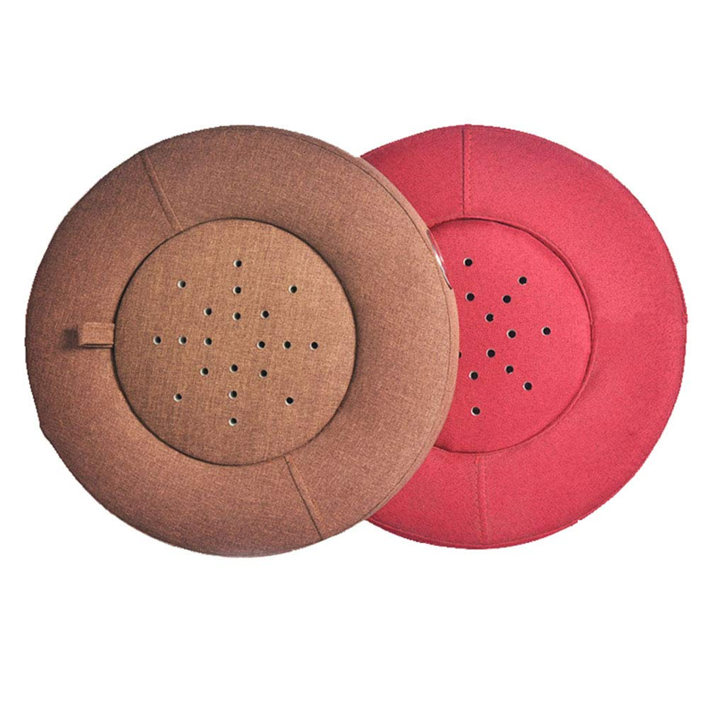 Moxibustion Pad, Smokeless Moxa Box Burner Moxibustion Box Seat Cushion Belly,Waist,Hip,Back,Neck,Leg,Feet Pain Release-red