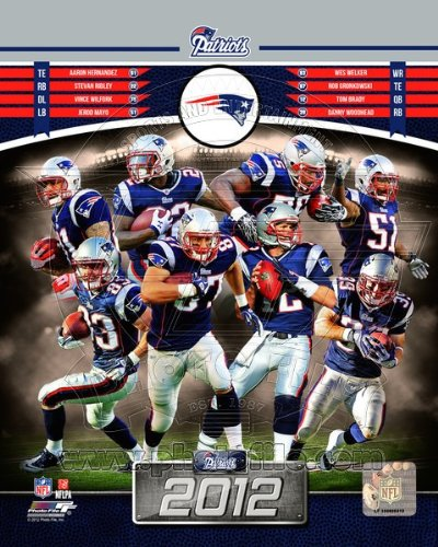 New England Patriots 2012 NFL Team Composite Photo (Nfl Team Photo)