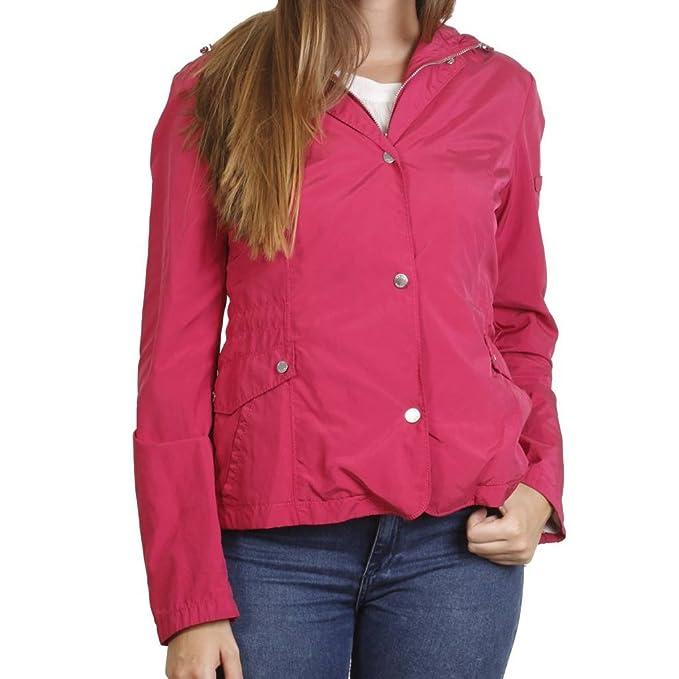 Geox Chaqueta para Mujer, Color Rosa, Marca, Modelo Chaqueta para Mujer Chaqueta Mujer